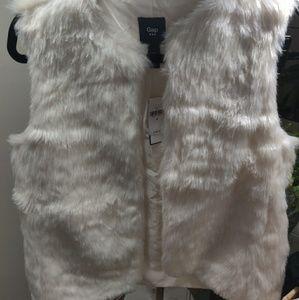 Faux fur GAP vest
